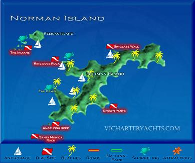 ����� ������� ���������� Virgin_Islands_Norman_Island_Map_sm.jpg